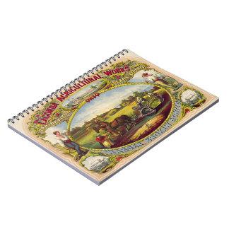 Farm Tools Ad 1859 Notebook