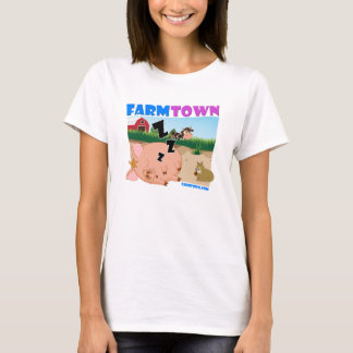 Farm Town Sleepy Piggy T-Shirt