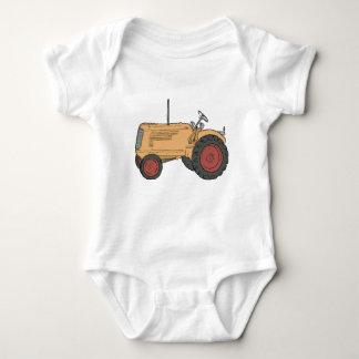 Farm Tractor Baby Bodysuit