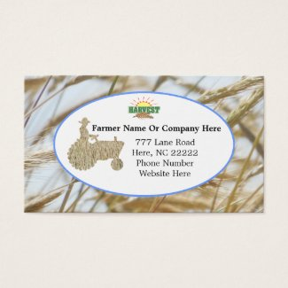 Farm tractor business cards djdesigns70 by donna farm tractor business cards colourmoves