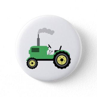 Farm Tractor Button