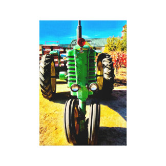 Farm Tractor Canvas Print