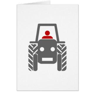 Farm Tractor Card