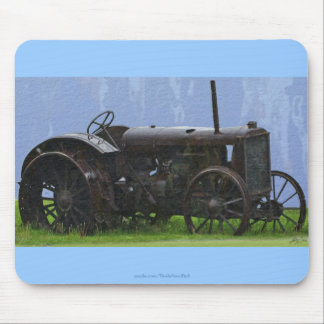 Farm Tractor Heavy Machine Transport Work Vehicle Mouse Pad