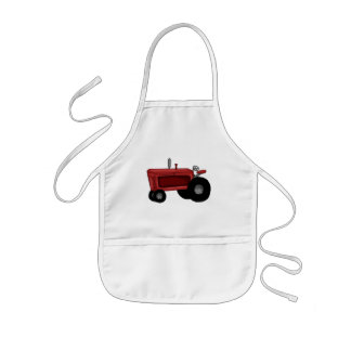 Farm Tractor Kids' Apron