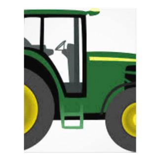 Farm Tractor Letterhead