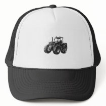 Farm Tractor Perfect Farmer's Machine Design Trucker Hat