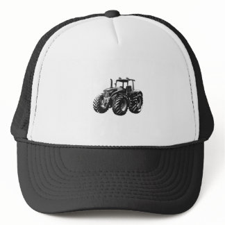 Farm Tractor Perfect Farmer's Machine Design Trucker Hat
