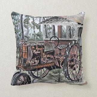 farm tractor pillows
