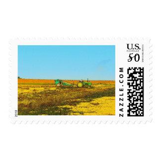 Farm Tractor Postage