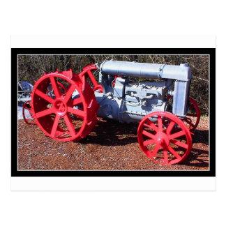 Farm Tractor Postcard