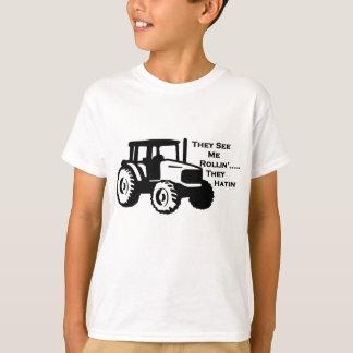 Farm Tractor Rollin' T-Shirt