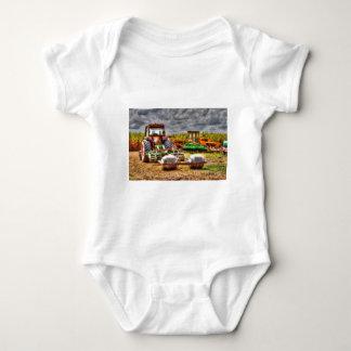 FARM TRACTOR RURAL QUEENSLAND AUSTRALIA BABY BODYSUIT