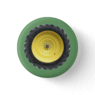 Farm Tractor Wheel Series Button