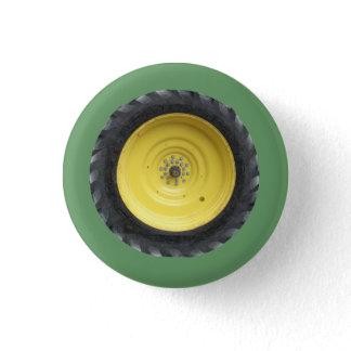 Farm Tractor Wheel Series Button