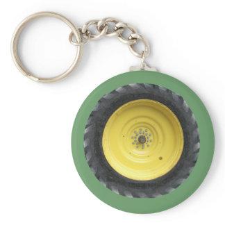 Farm Tractor Wheel Series Keychain