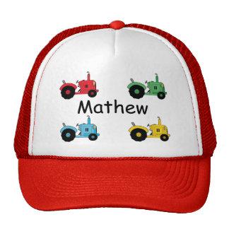 Farm Tractors Hats