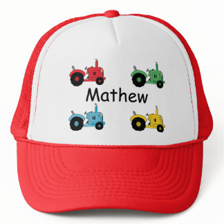 Farm Tractors Trucker Hat