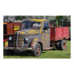 Farm Truck from Yesteryear Poster