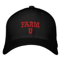 FARM   U EMBROIDERED BASEBALL CAP