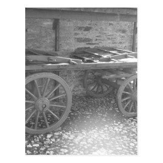 Farm Wagon Postcard
