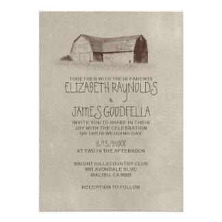 Farm Wedding Invitations Announcement