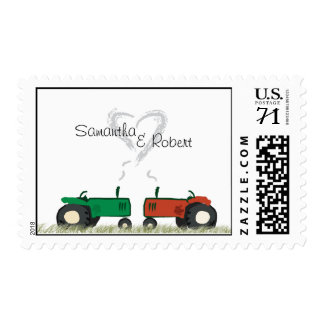 Farm Wedding Postage