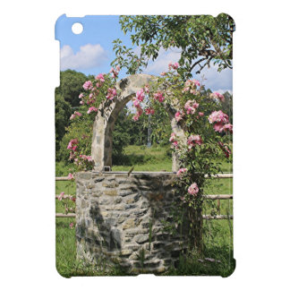 Farm wishing well and roses, Spain iPad Mini Case