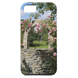 Farm wishing well and roses, Spain iPhone SE/5/5s Case