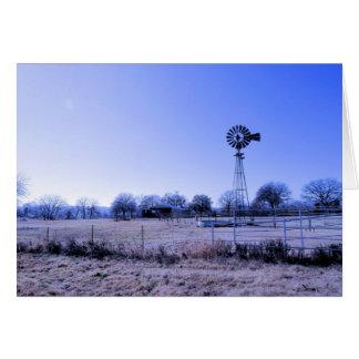 Farm with Windmill Card