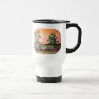 Farm Yard Travel Mug