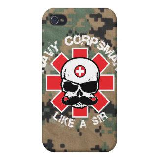 Farmaceuta de la marina de guerra - como un sir iPhone 4/4S fundas