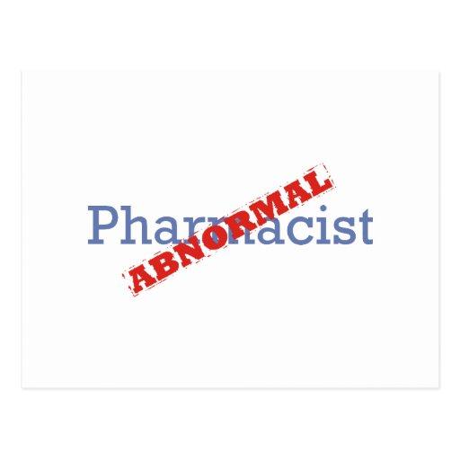 Farmacéutico/anormal Postal