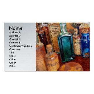 Farmacéutico - botiquín plantilla de tarjeta personal