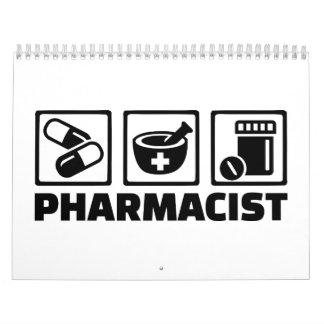 Farmacéutico Calendario