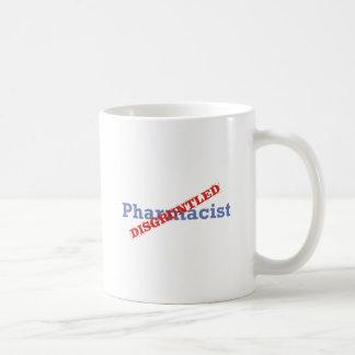 Farmacéutico/contrariedad Taza Clásica
