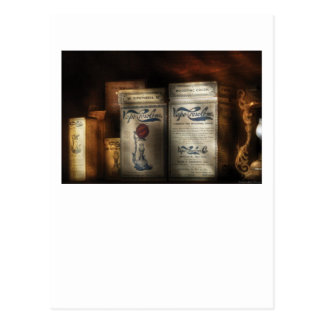 Farmacéutico - curaciones médicas tarjeta postal