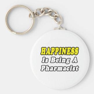 Farmacéutico de la felicidad… llaveros personalizados