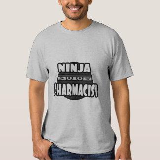 Farmacéutico de Ninja Playera