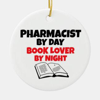 Farmacéutico del aficionado a los libros del día ornatos
