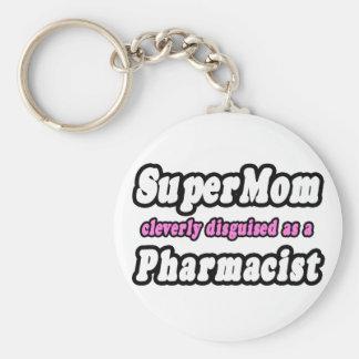 Farmacéutico del SuperMom… Llavero Personalizado