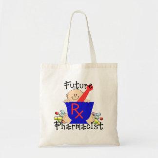 Farmacéutico futuro bolsa lienzo