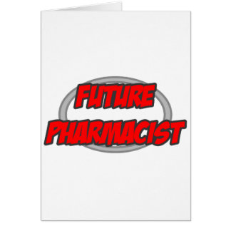 Farmacéutico futuro tarjeton