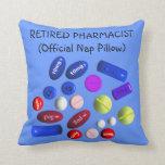 """Farmacéutico jubilado """"almohada oficial de la sies"""