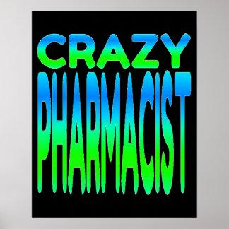 Farmacéutico loco póster