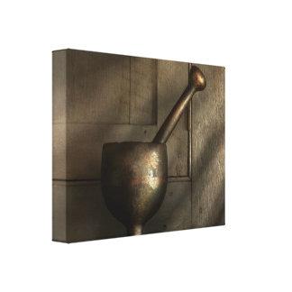 Farmacéutico - maja - épocas más simples lienzo envuelto para galerías