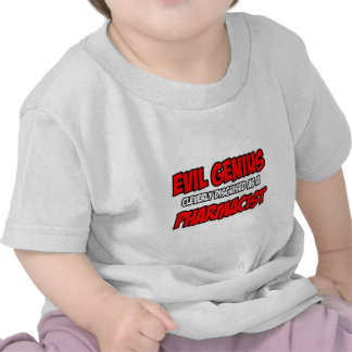 Farmacéutico malvado del genio… camiseta