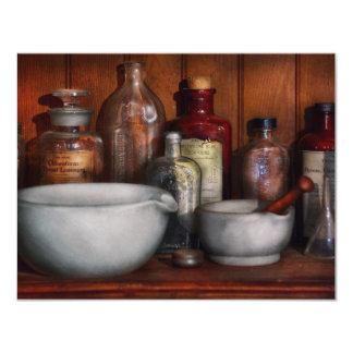 Farmacéutico - medicina para toser invitacion personal