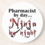 Farmacéutico Ninja Posavasos Manualidades