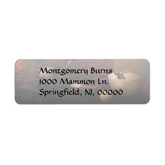 Farmacéutico - polvo de organización etiquetas de remite